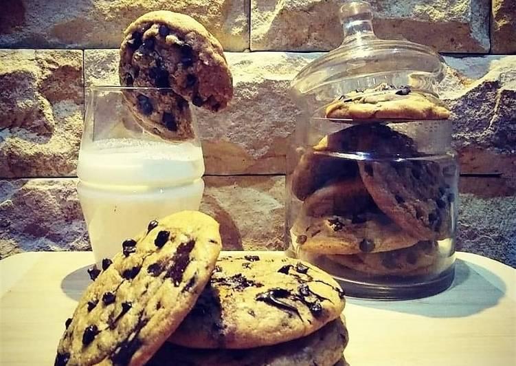 Recette Parfait Recette américaine cookies fait maison