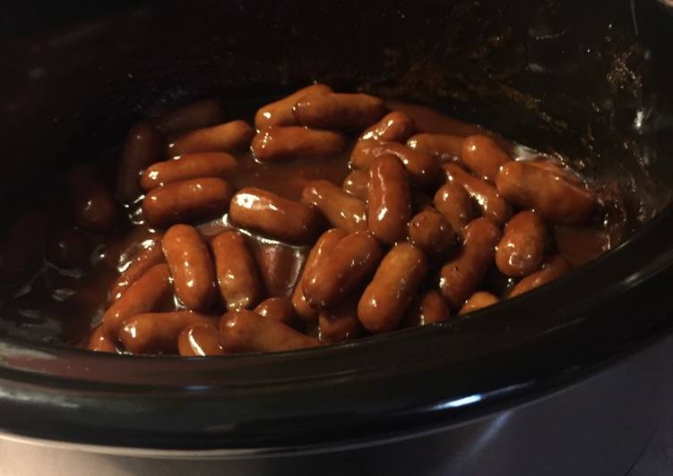 Easy Crockpot lil smokies!