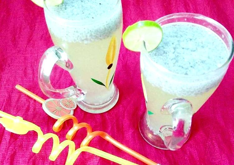 Steps to Make Quick Nimbu pani
