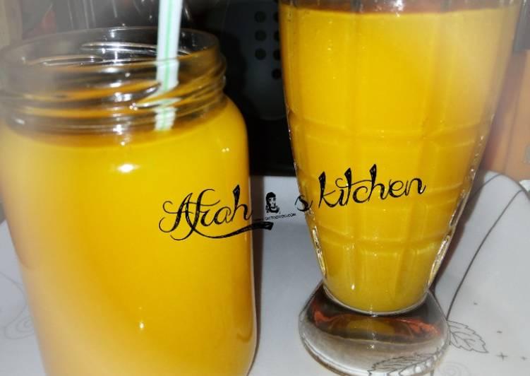 Simple Way to Make Top-Rated Mango juice