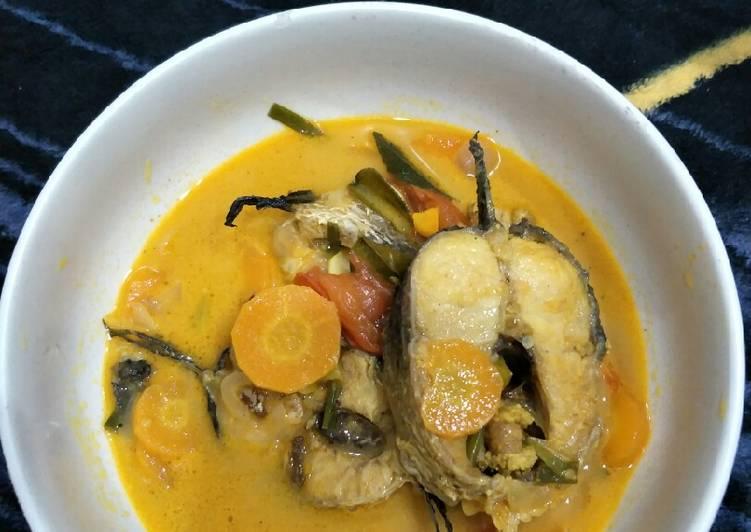 Ikan GABUS kuah curry pedas