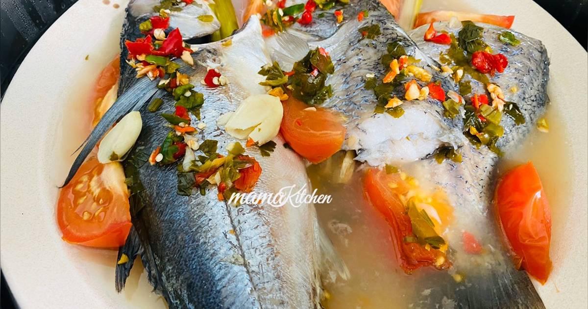 resepi ikan cencaru bakar guna oven  sarangan Resepi Ikan Kerapu Bakar Enak dan Mudah