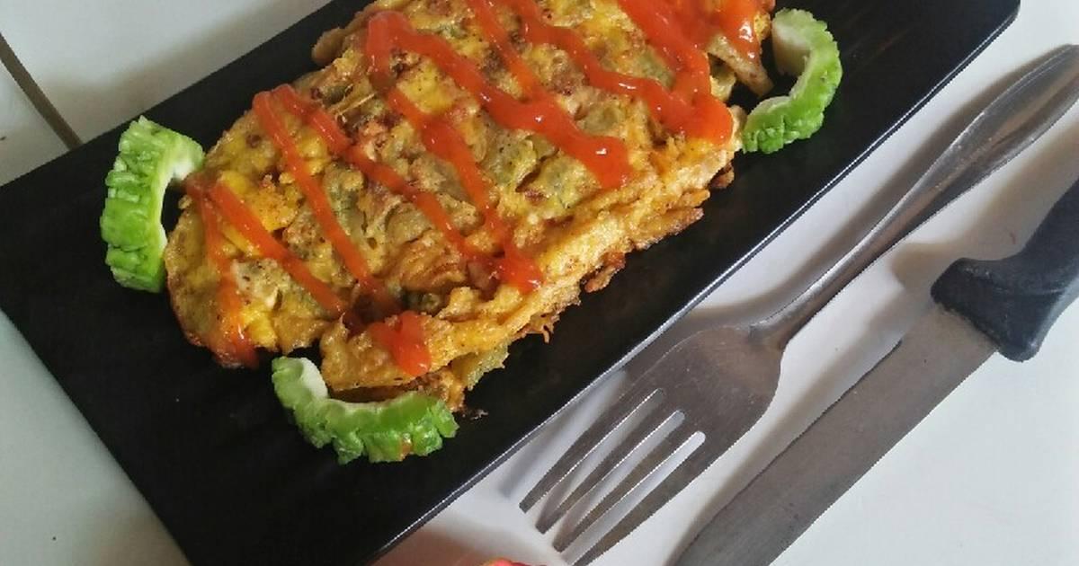 resep telur dadar enak  sederhana ala rumahan cookpad Resepi Nasi Goreng Ala Korea Enak dan Mudah