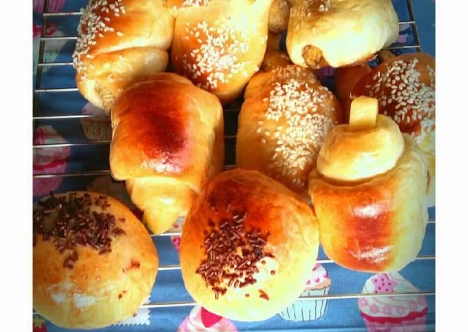 Roti manis serat lembut