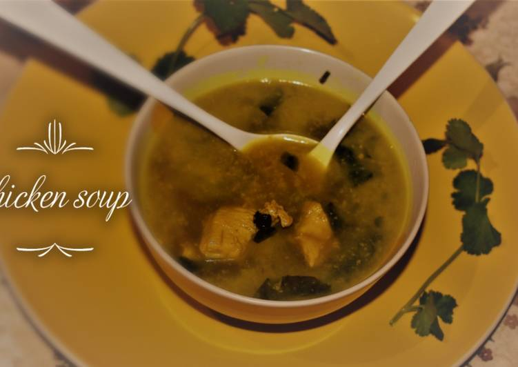Simple Ways To Keep Your Sanity While You Green vegetable chicken soup
