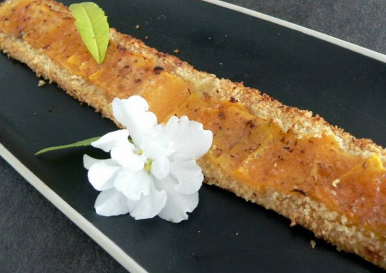 Tartelette au melon parfumée à la fève tonka
