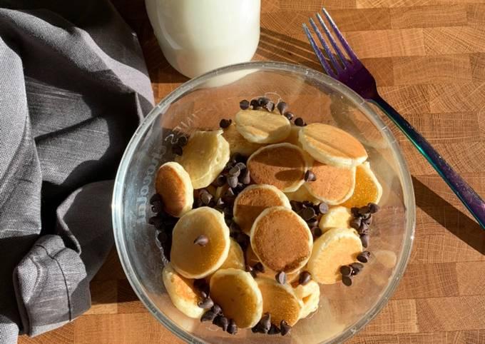☆Mini Pancakes façon Céréales☆