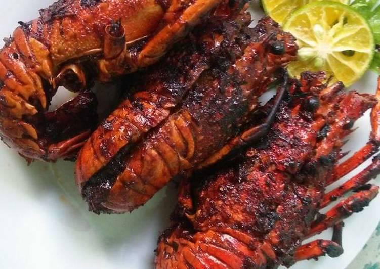 Cara Membuat Lobster Bakar Pedas Manis Spesial