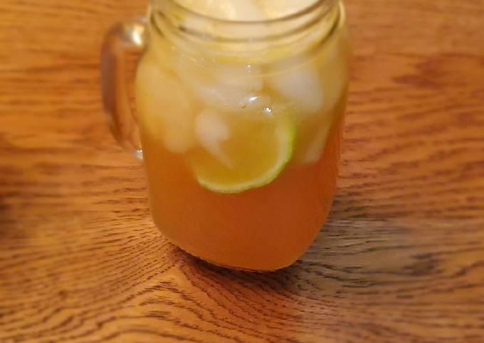 Gin gin mule (my own version)