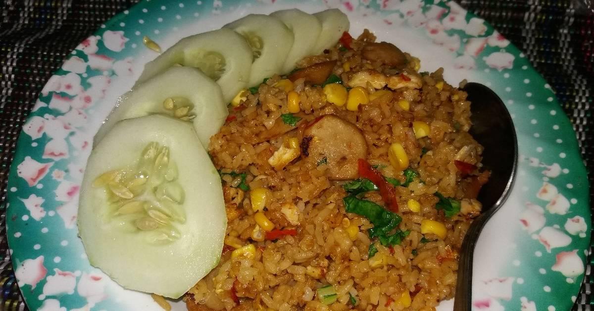 6 Resep Nasi Goreng Kekian Sosis Pedas Enak Dan Sederhana Ala Rumahan Cookpad