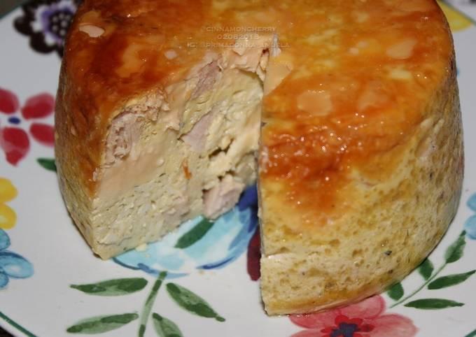 Farmer Breakfast Casserole (Thick Omelette in Slow Cooker)