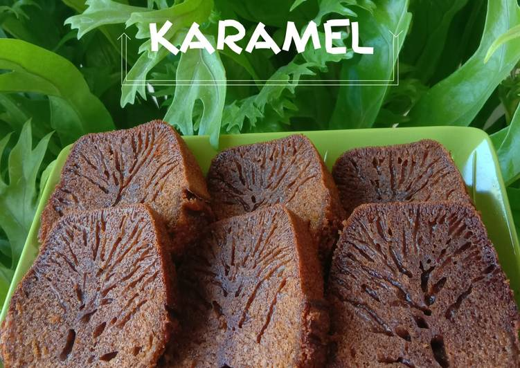 Bolu Karamel - cookandrecipe.com