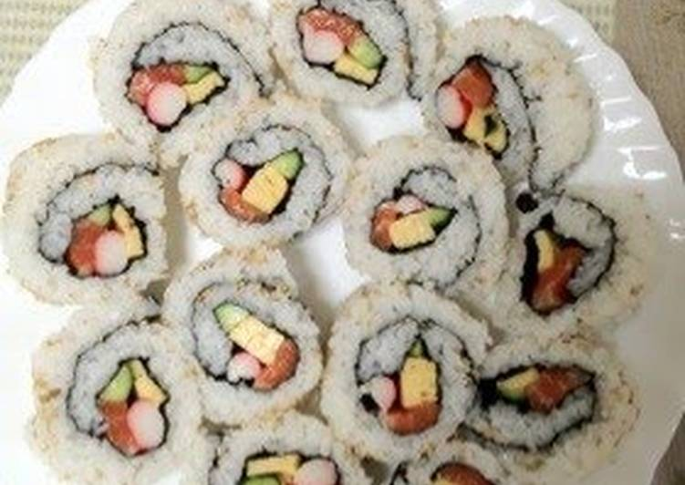 Recipe: Appetizing Amazingly Delicious California Rolls