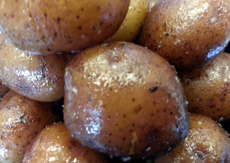Recipe: Delicious Honey Glazed Red Potatoes