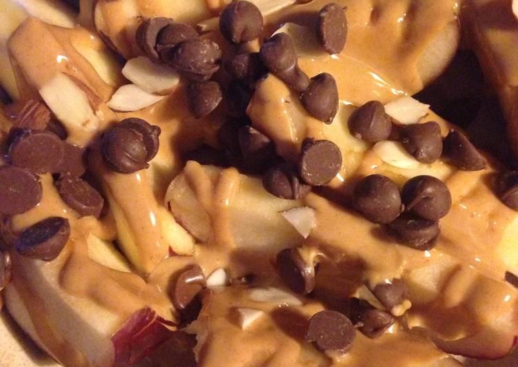 Apple And Peanut Butter Dessert
