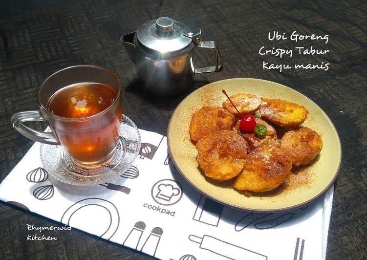 Ubi Goreng Crispy Tabur Kayu Manis