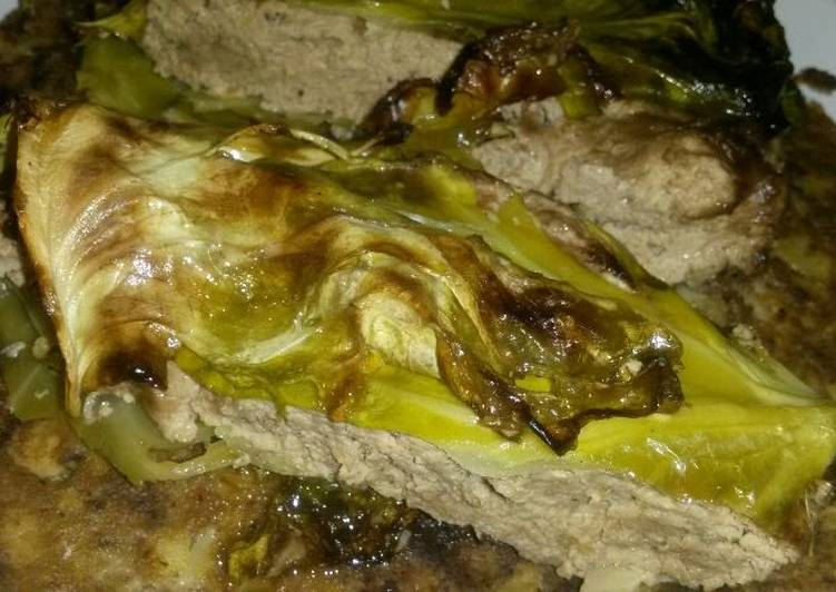 Sig's deliciously stuffed cabbage (vegetarian)