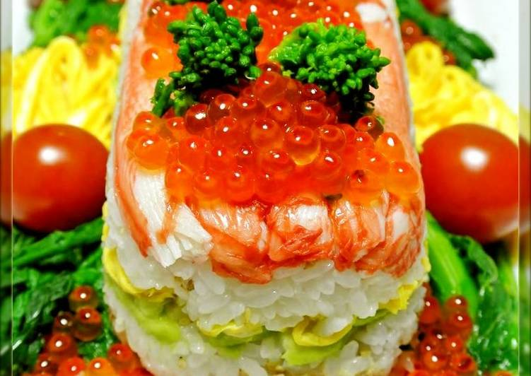 Sushi Jewel Box for Hinamatsuri (Girl's Festival)