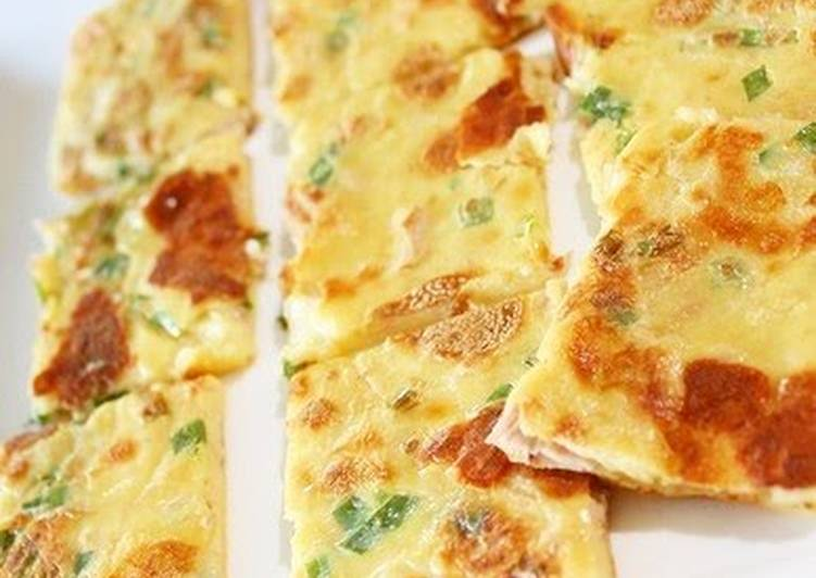 Made in a Frying Pan Crispy and Chewy Hirayachi (Okinawan Pancakes)