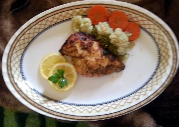 Recipe of Perfect baked garlic chicken