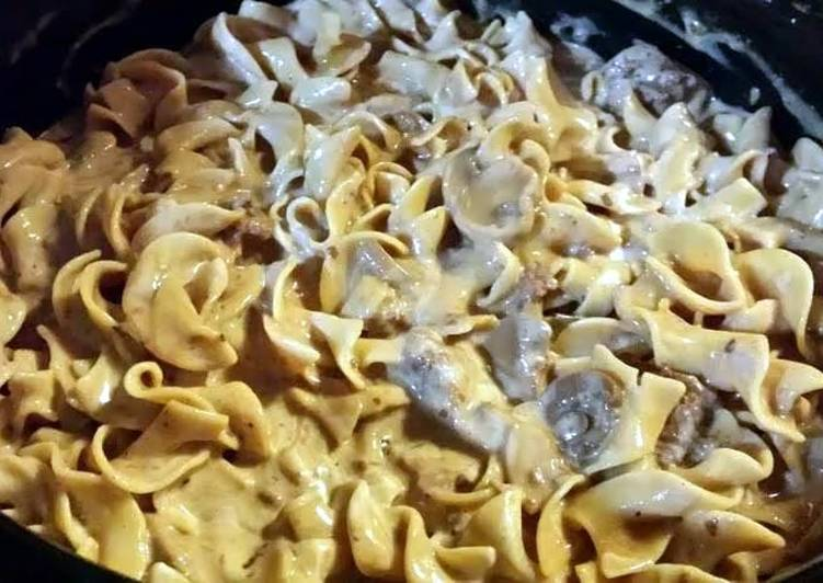 Recipe of Ultimate Crockpot Beef Stroganoff