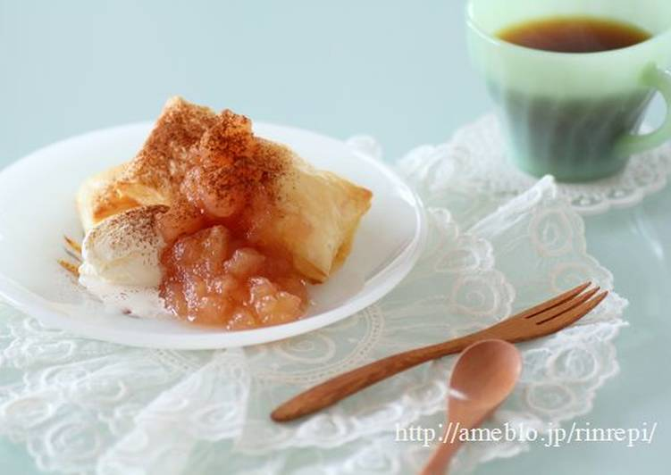 "Easiest Way to Make Award-winning Easy Apple ""Pie"" with Homemade Apple Jam"