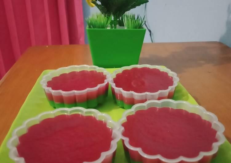 1.Kue lapis tapioka dan tepung beras - cookandrecipe.com