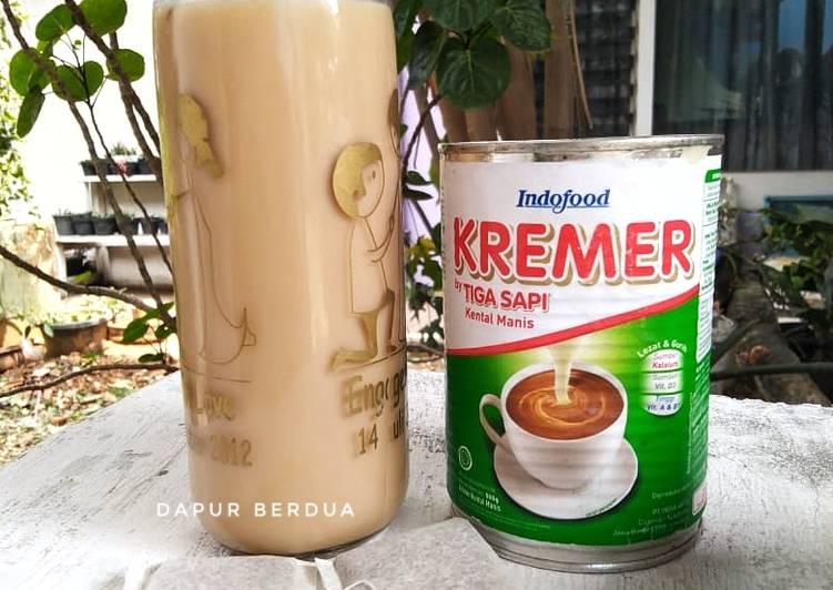 Hongkong Milk Tea Ala Nonny   Recook Bu Lina Bachry