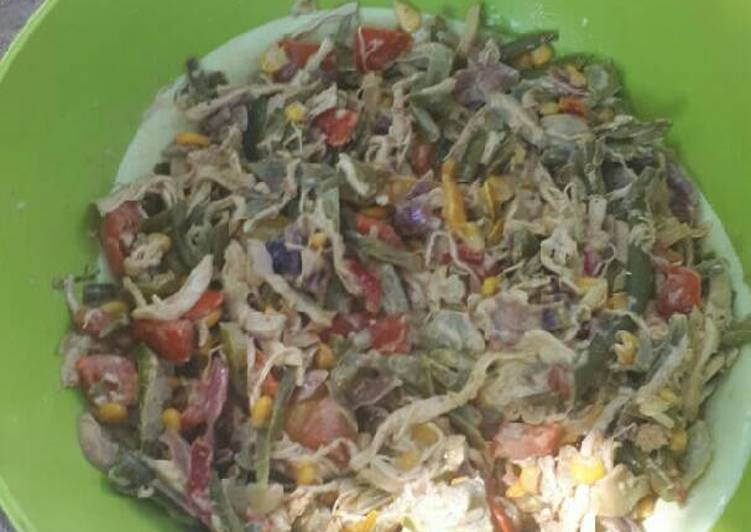 Recipe of Super Quick Homemade White button mushroom salad