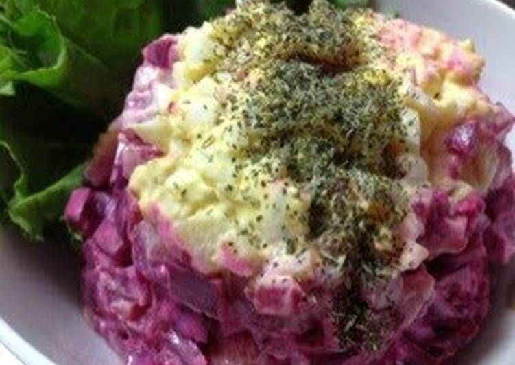 Easiest Way to Prepare Top-Rated Herring Salad with Beetroot