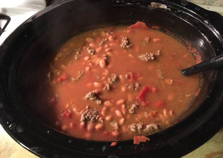 Crock Pot Chili Made Simple !