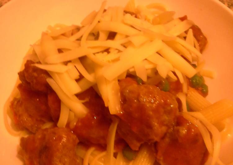 Easiest Way to Cook Perfect The Best Meatballs & Sauce