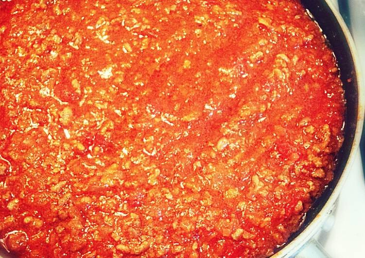 Easy Homemade Simple, Elegant, Authentic Meat Sauce Recipe