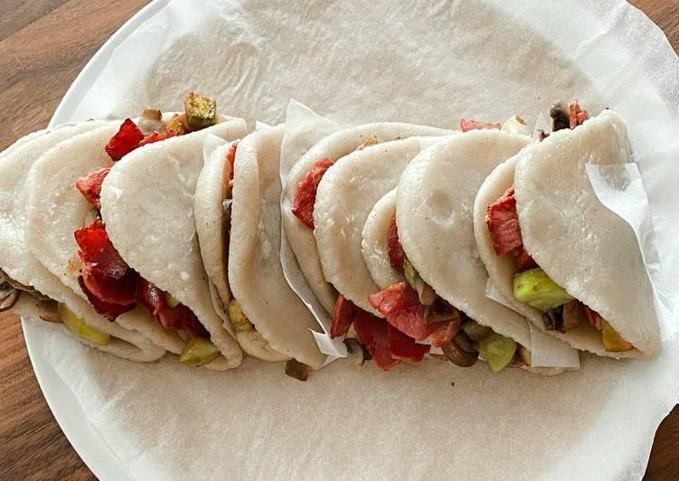 Recipe: Tasty Steamed Bao Buns
