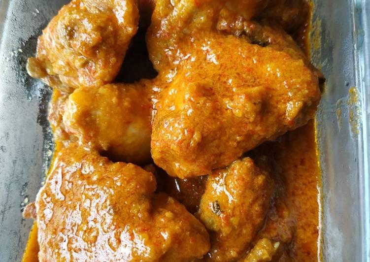 Ayam Kalio simple
