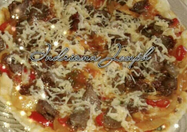 Pizza teflon tipis extra pedazzz