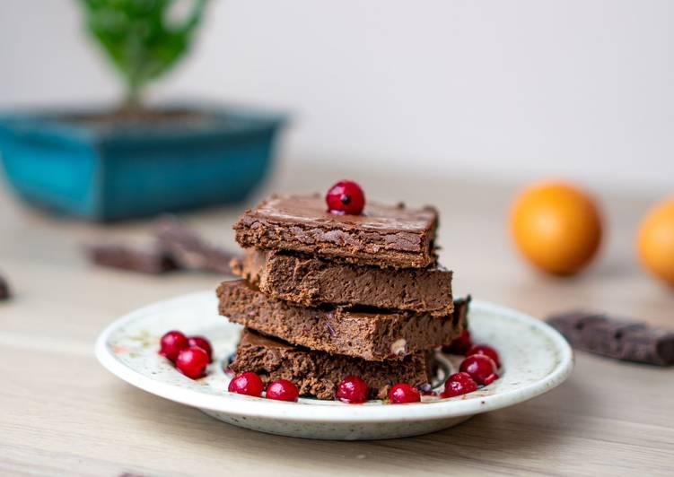 La Recette Pas à Pas Brownie chocolat aux haricots rouges