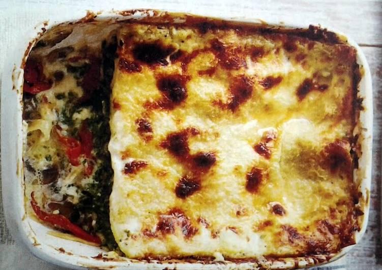 Recipe: Yummy Mascarpone and Mushroom Lasagne