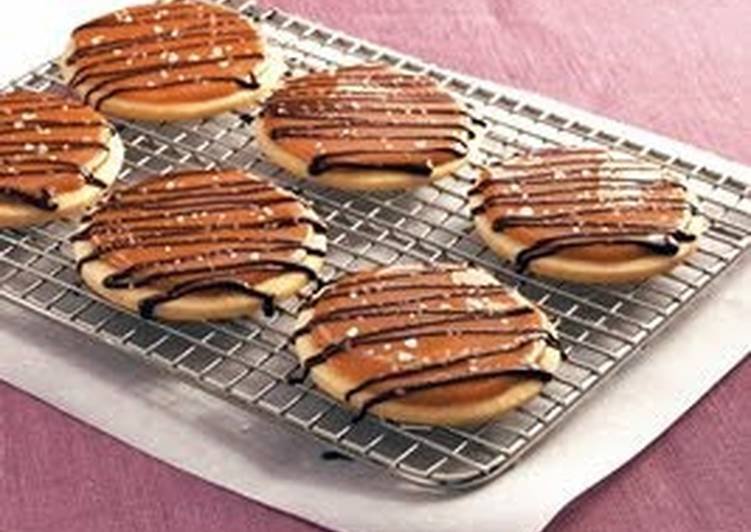Salted Caramel Shortbread Cookies (Betty Crocker)