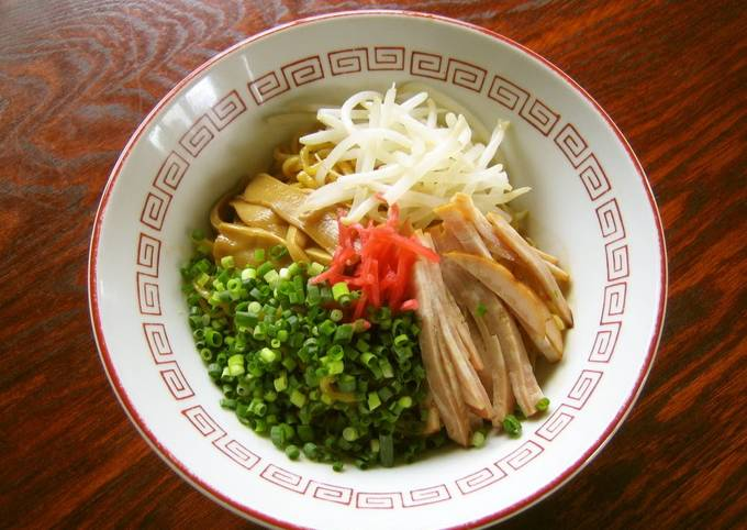 Super Rich Abura-Soba!! (Ramen Noodles with Oil Based Sauce)