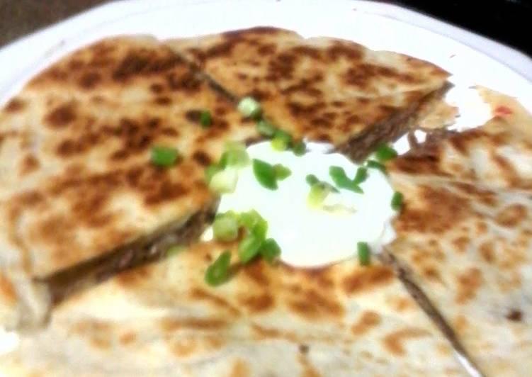 Recipe of Any-night-of-the-week steak quesadillas