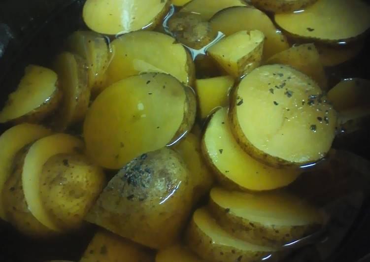 10 Minute Steps to Prepare Love Crock pot potatoes