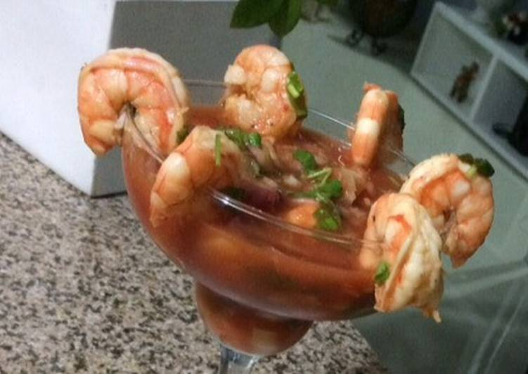 Recipe: Delish Coctel de Camarones