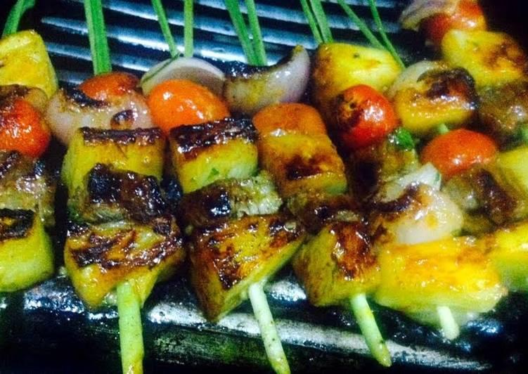 How to Cook Delicious Kanya's Lemongrass Skewers Tenderloin