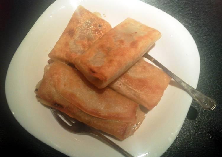 tasty spring rolls!