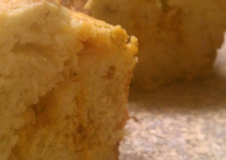 Double Pesto Quick Bread