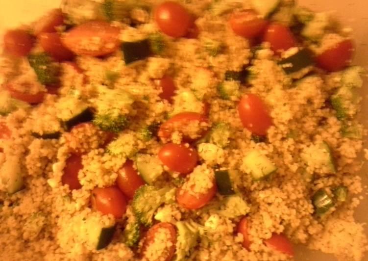 Couscous pasta salad
