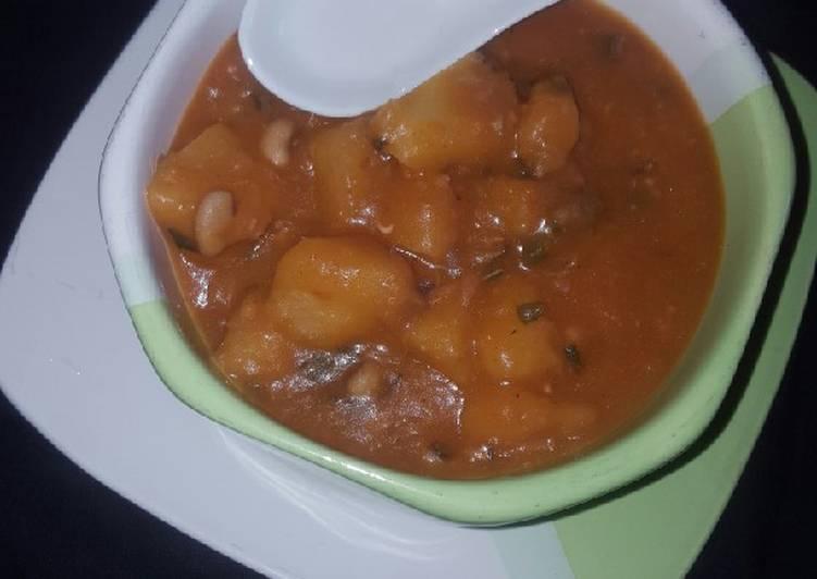 Steps to Prepare Homemade Yam porridge