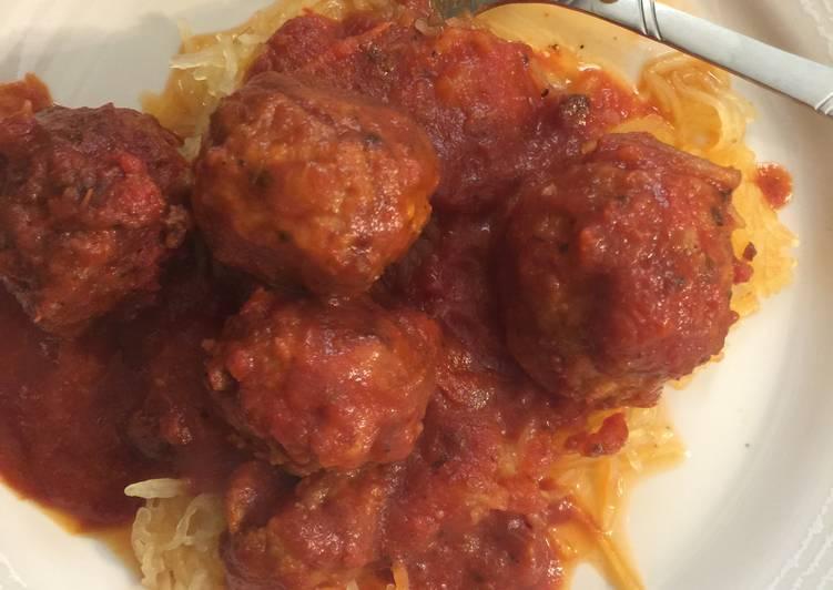 How to Prepare Ultimate Easy Crockpot Spaghetti Squash & Meatballs