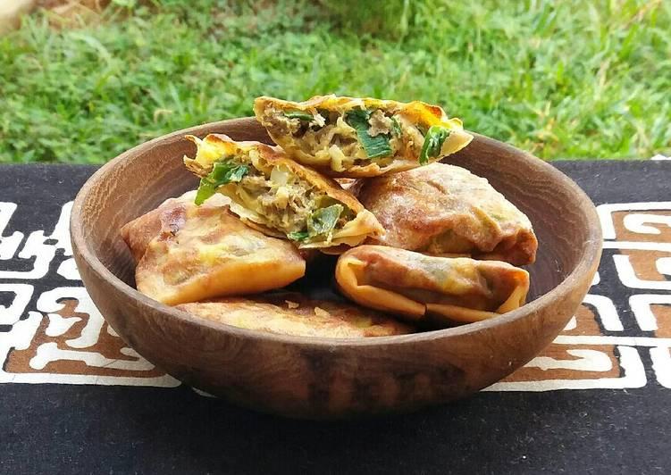 Martabak Mini Daging Kari